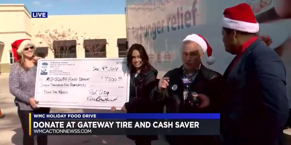WMC Action News 5′s Holiday Food Drive supports the Mid-South Food Bank