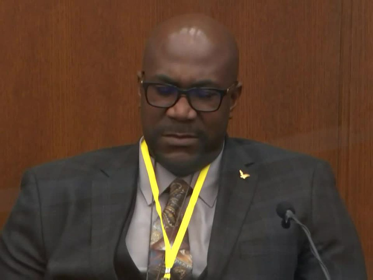 LIVE: George Floyd's brother sheds tears on the stand