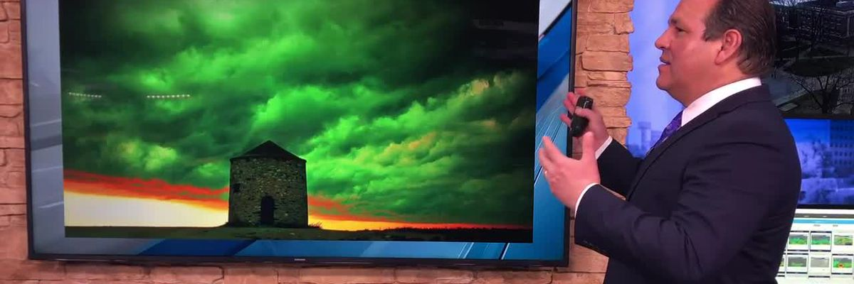 Breakdown: Why green skies don't always mean severe storms