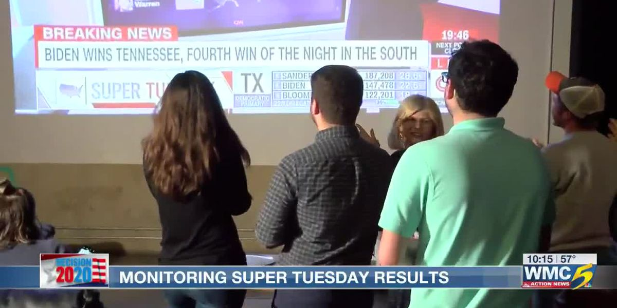 Super Tuesday wraps up with Biden winning in Tennessee