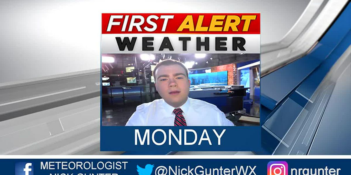 Monday, October 14th, First Alert Forecast