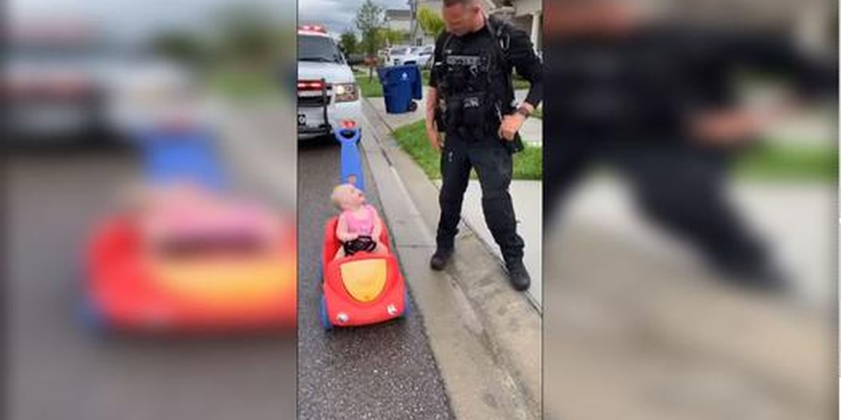 10-month-old pulled over for driving on wrong side of road