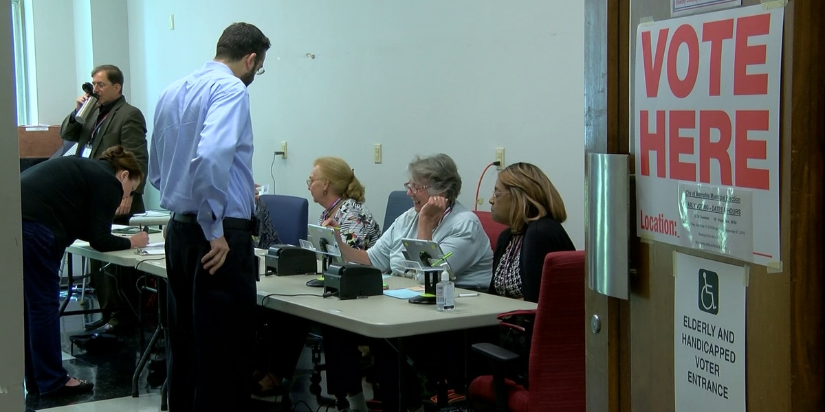 Early voting ends ahead of Memphis municipal election