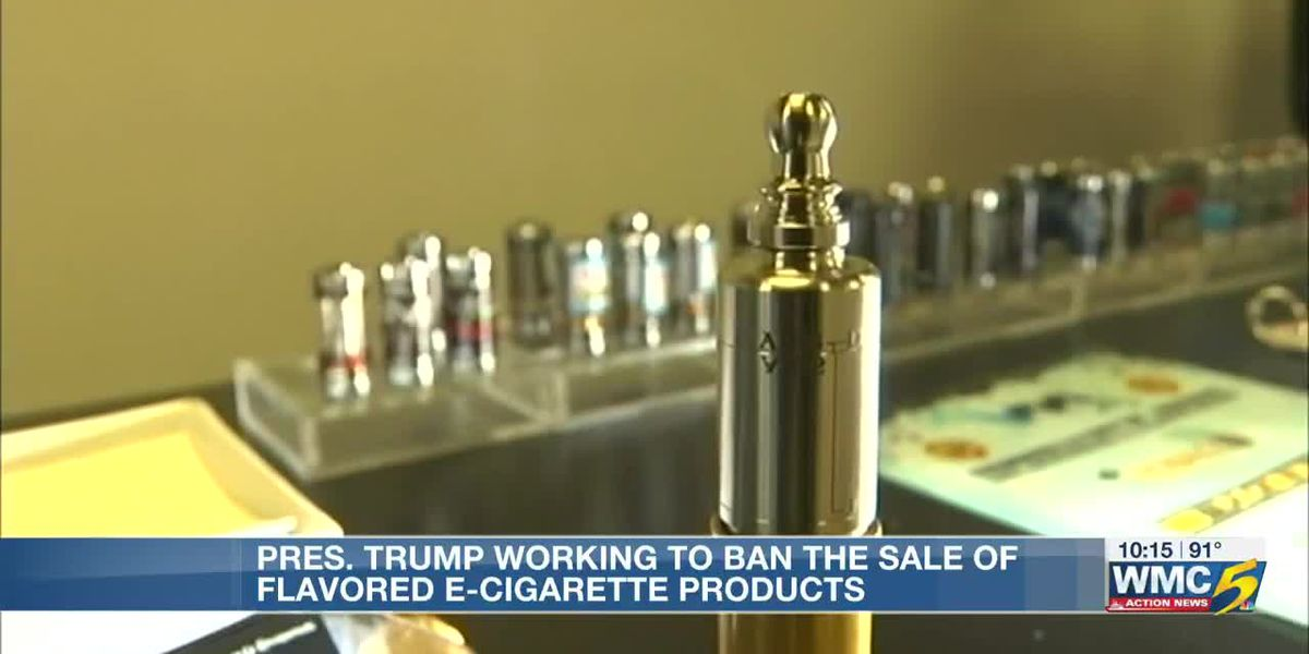 President Trump working to ban flavored E-cigarettes