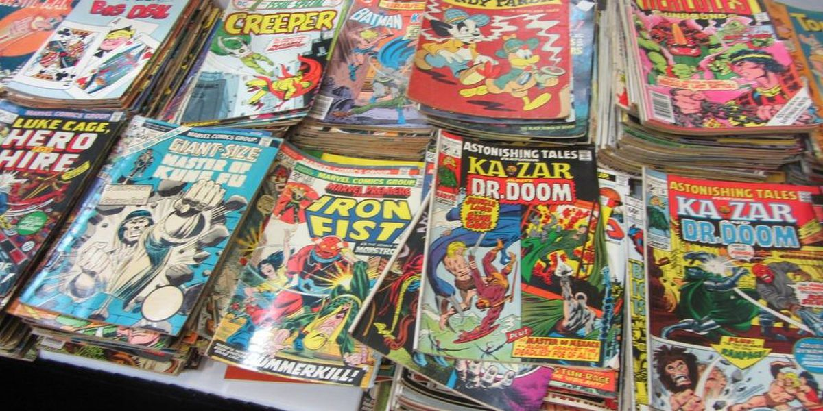 Create your own comics at the East Shelby Library