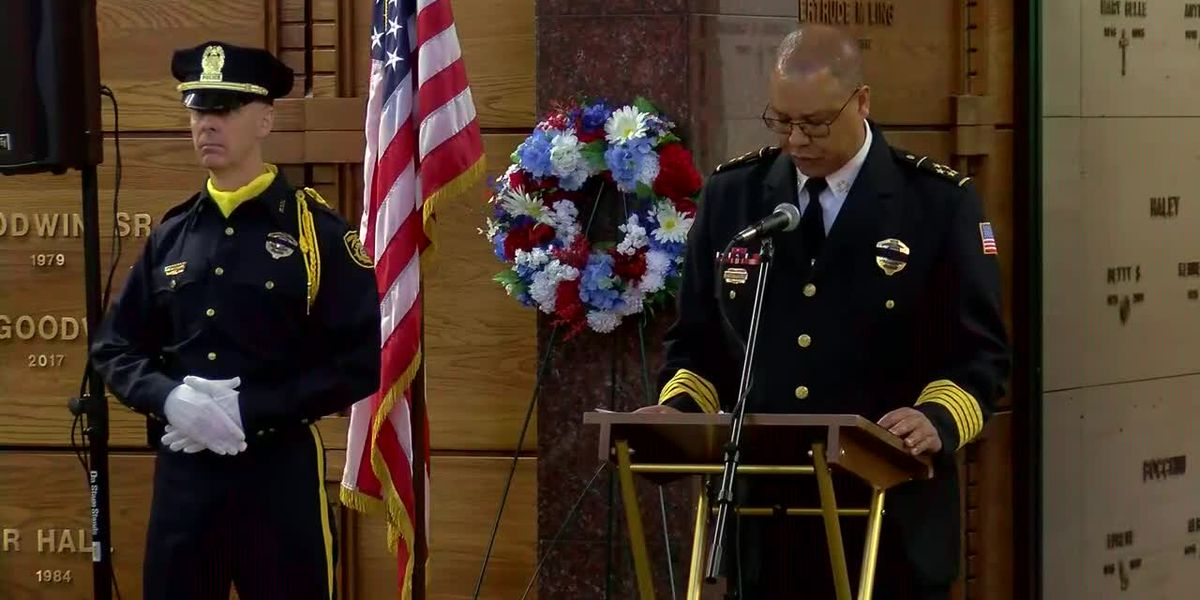 Memorial service honors Mid-South first responders who gave their lives
