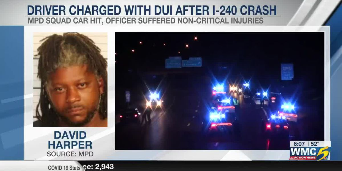 Driver charged with DUI after I-240 crash