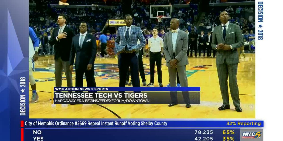 Tigers open Hardaway era with 76-61 win over Tennessee Tech