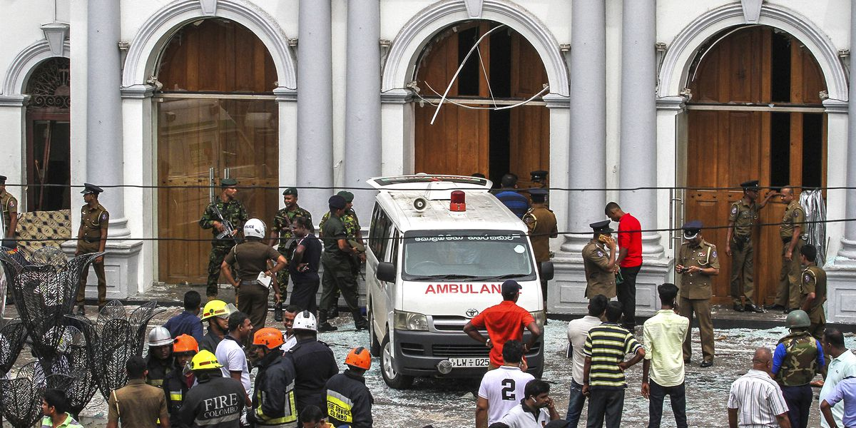 Sri Lanka says Easter attack leader died in hotel bombing