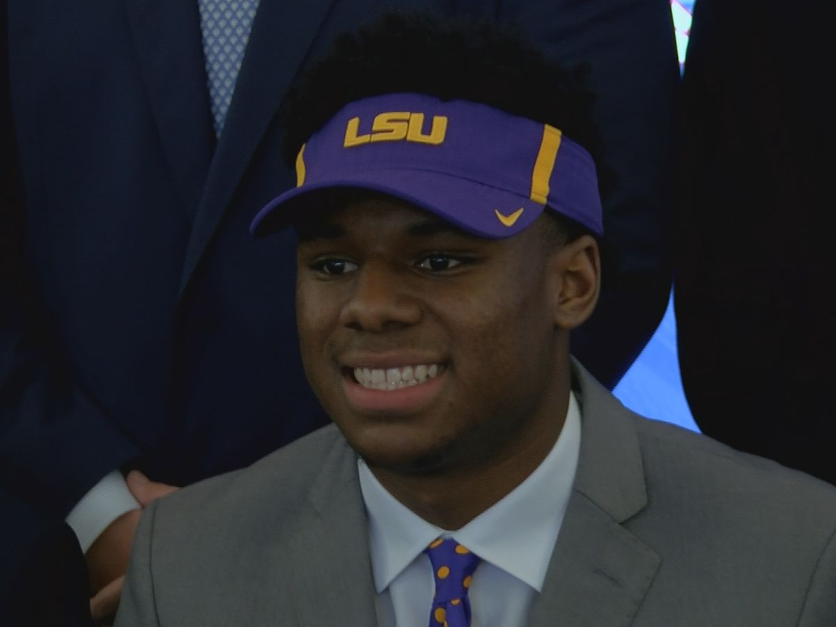 MUS dual sport star Maurice Hampton signs with LSU