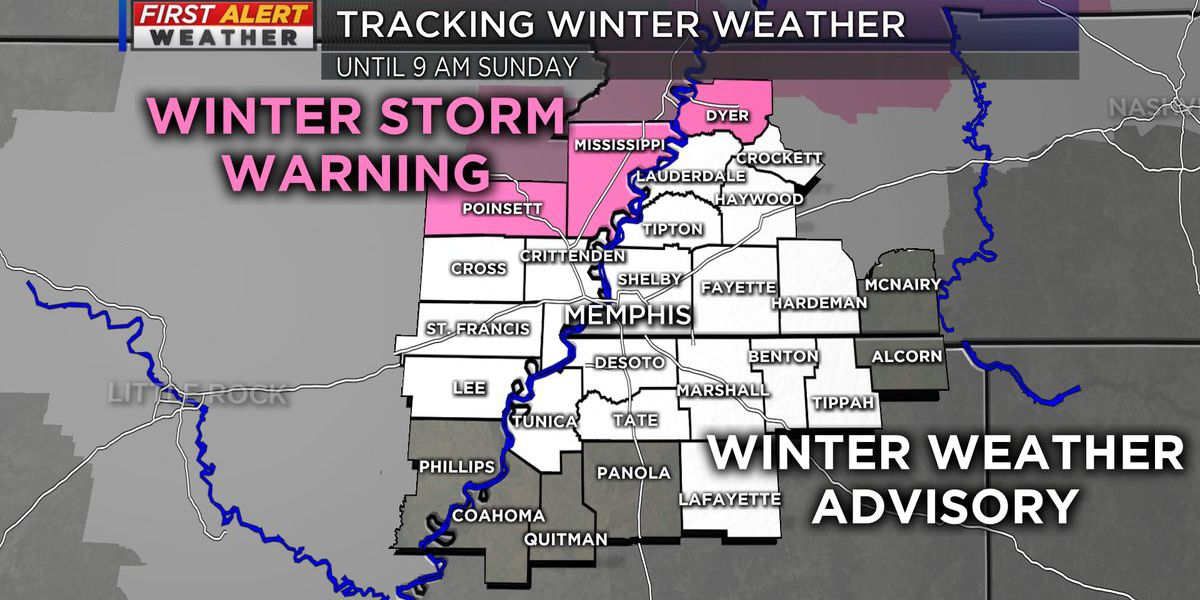 FIRST ALERT: Tracking winter weather across the Mid-South