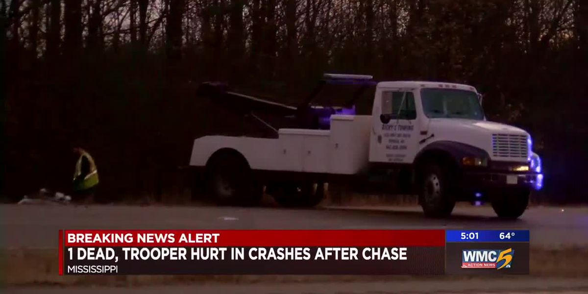 1 dead, 1 injured after high-speed chase and crash in Mississippi