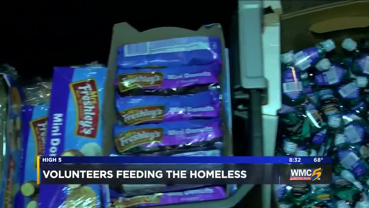 Local Church Provides Food Hygiene Products To Homeless