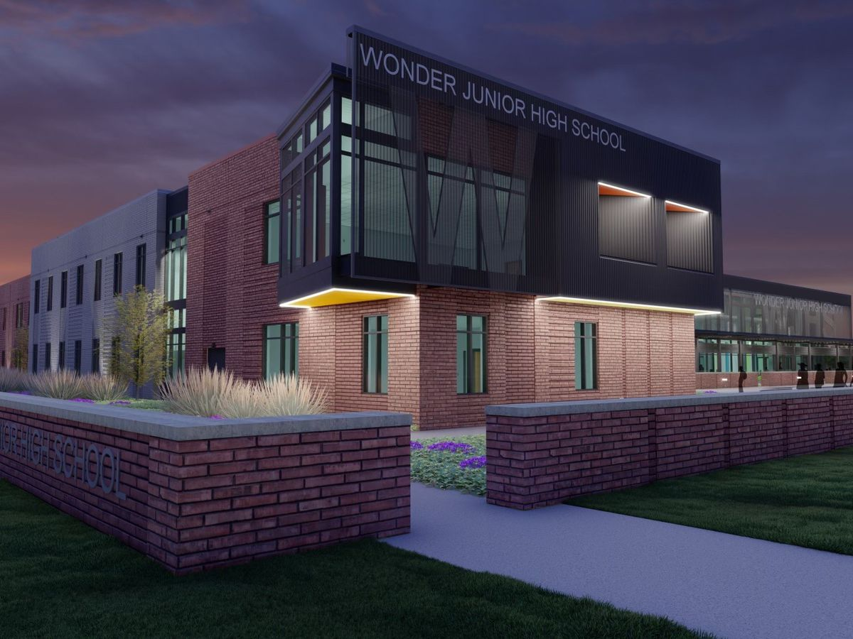 New West Memphis Junior High School undergoes construction