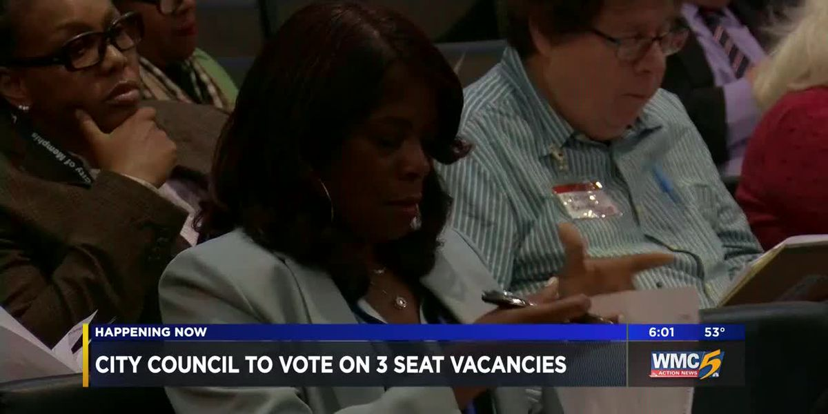 City council to vote on 3 seat vacancies