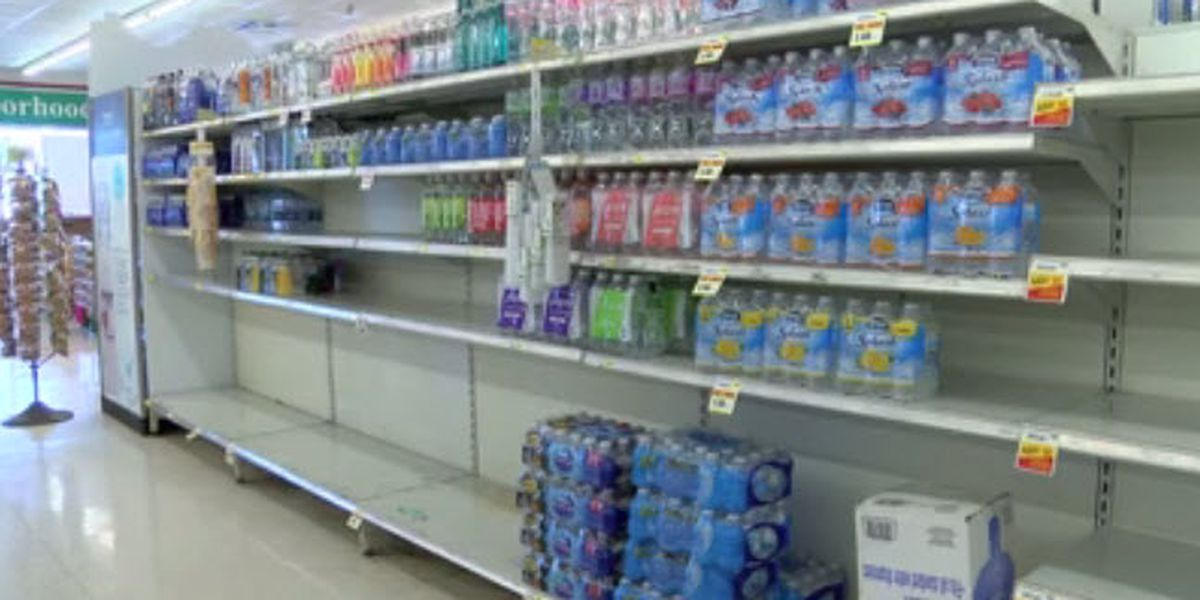 Search for bottled water begins after MLGW issue boil water advisory