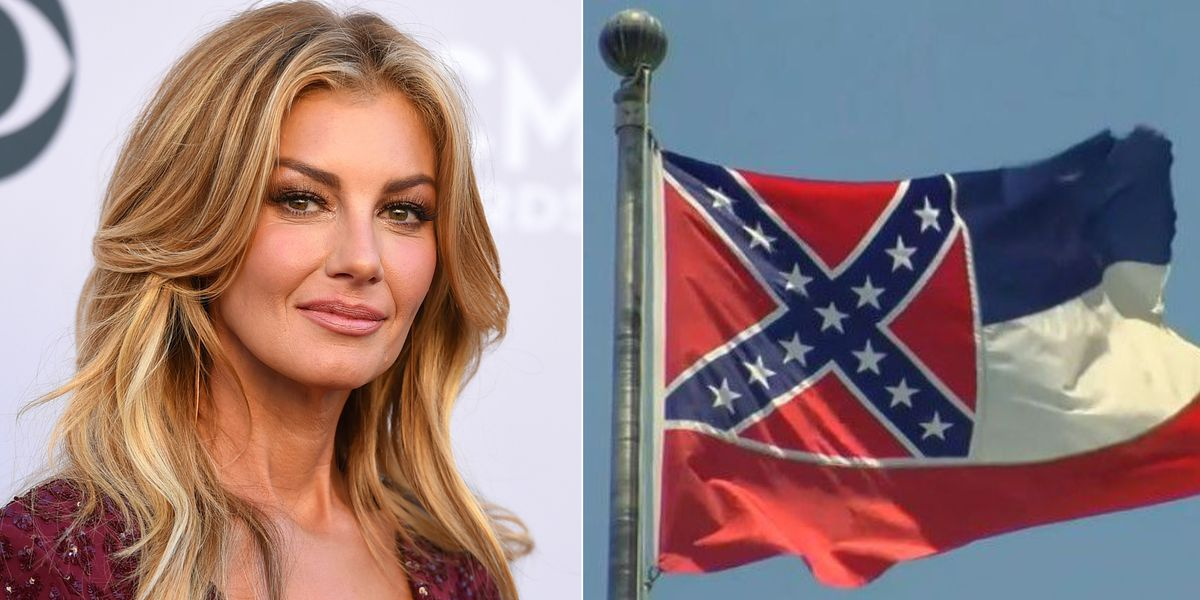 Miss. native Faith Hill calls for state flag to be changed
