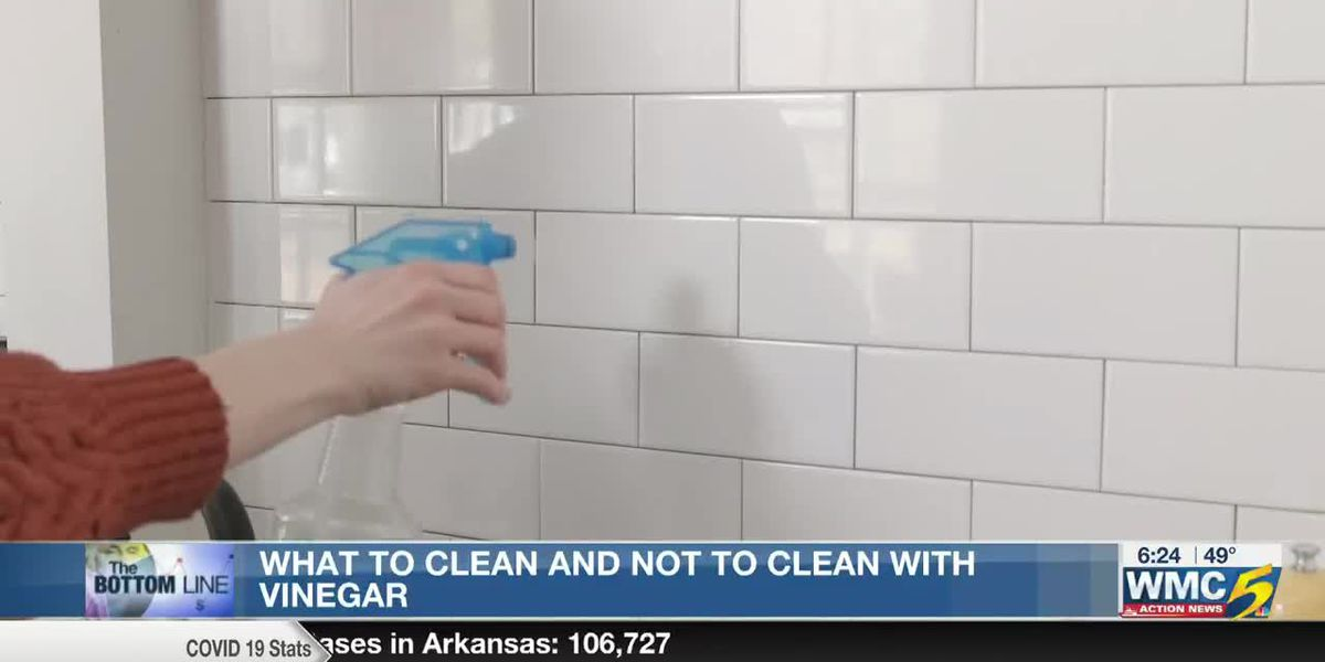 Bottom Line: What to clean and not to clean with vinegar