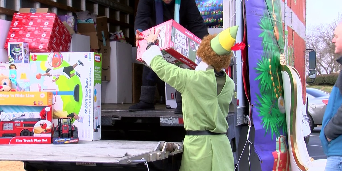 Porter-Leath Toy Truck provides gifts for more than 6,200 Mid-South children