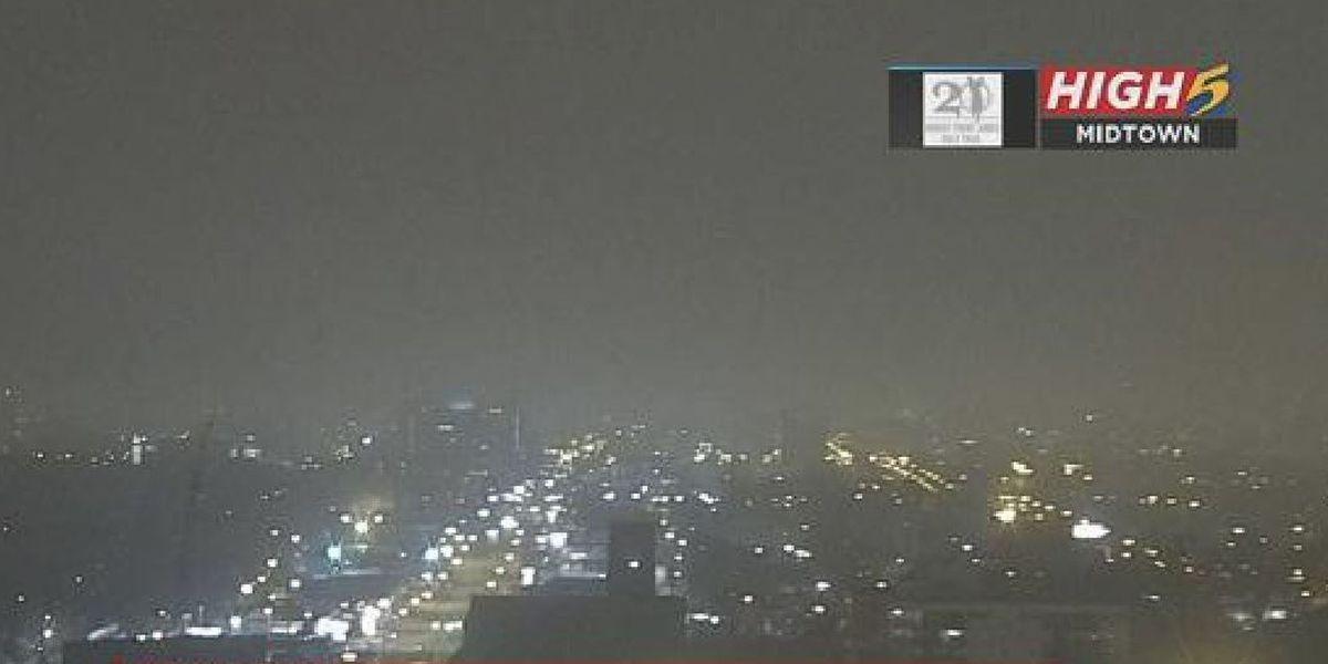 Dense fog advisory for the Mid-South