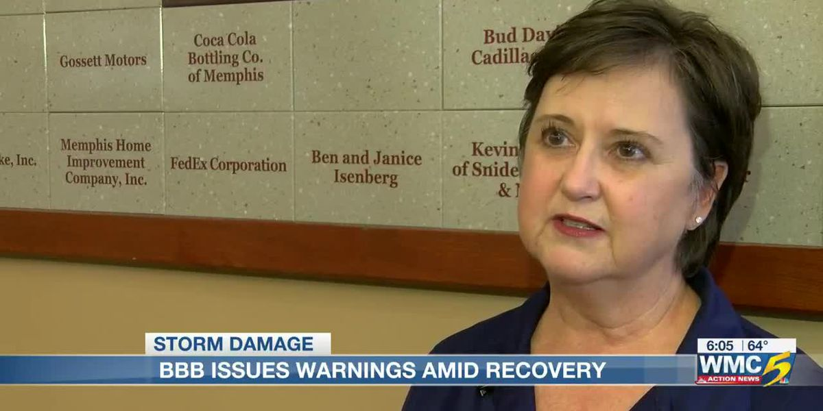 BBB issues warning amid tornado recovery efforts