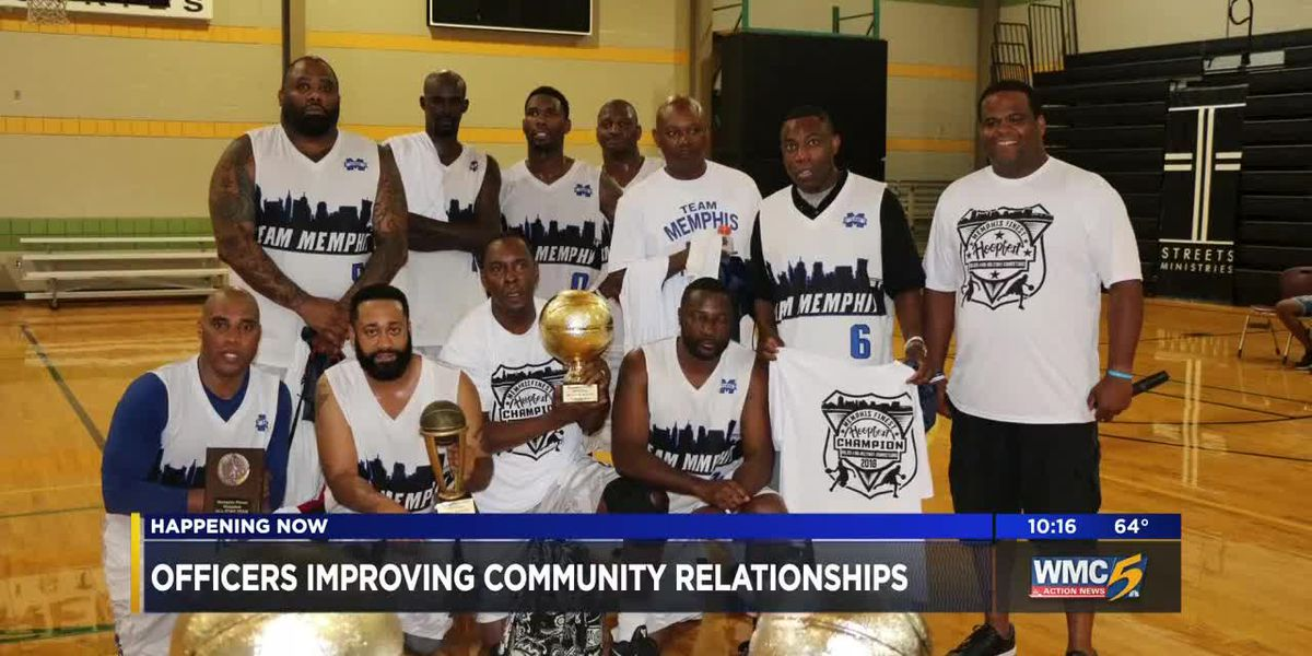 Memphis police officer works to improve community relationships