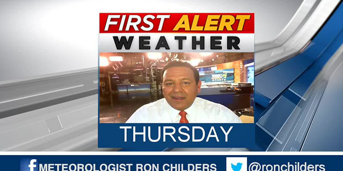 Thursday evening weather update