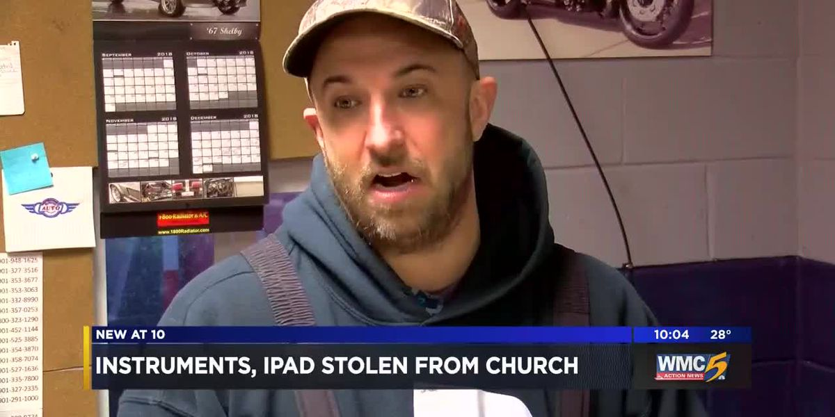 Woman steals instruments, iPad from church