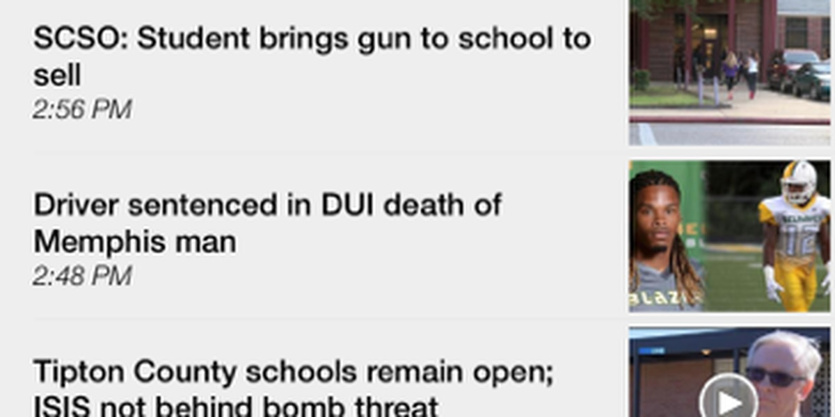 Managing alerts in the WMC Action News 5 news app