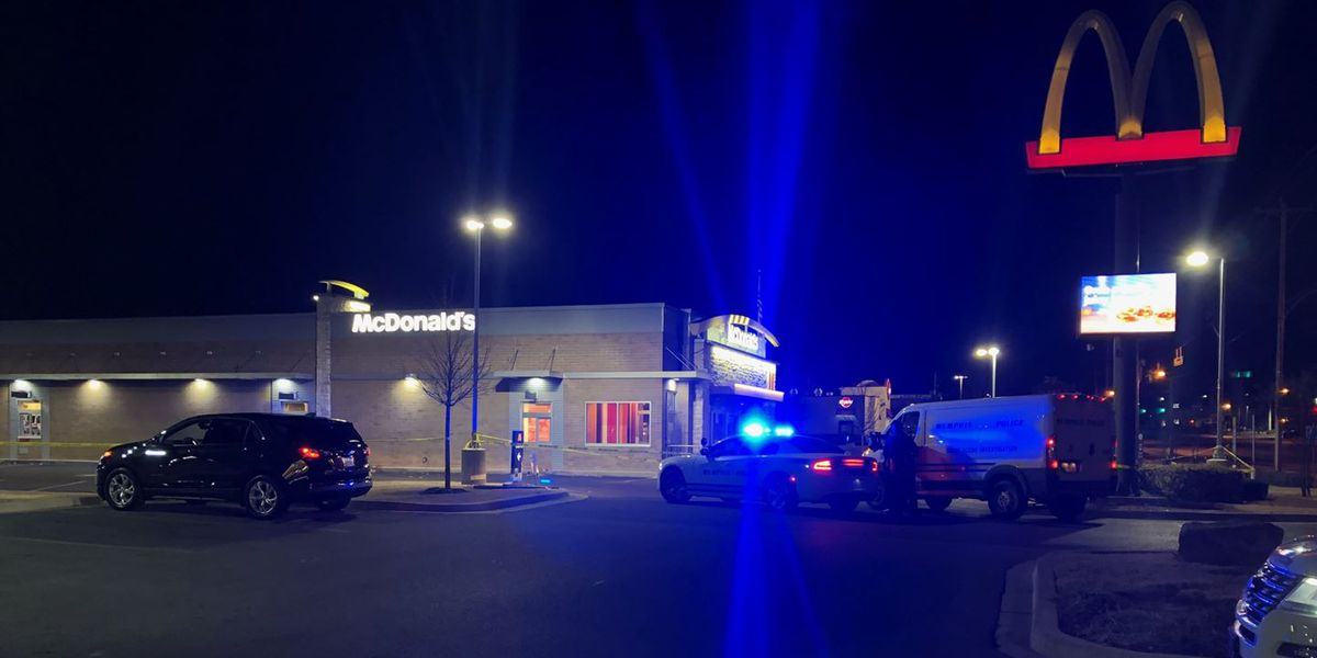 1 shot at McDonald's on Winchester Road