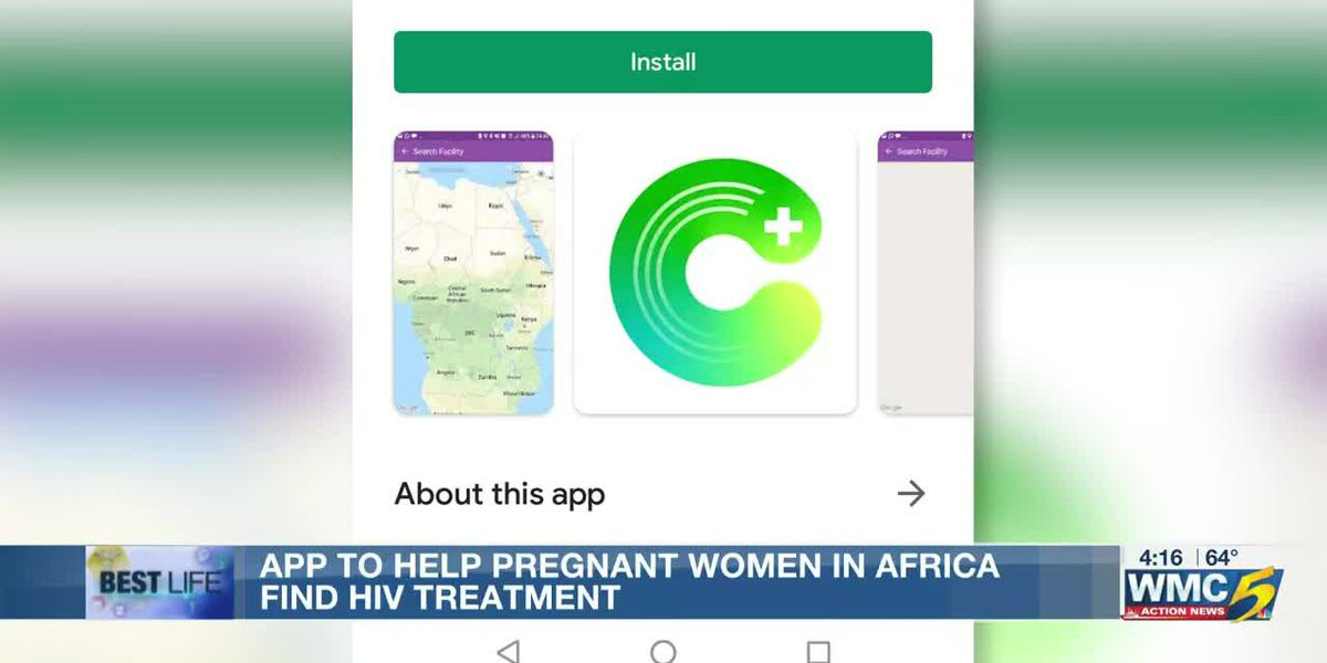 Best Life: App to help pregnant women in Africa find HIV treatment