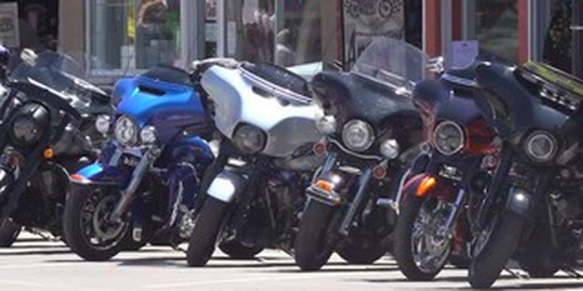 Harleys everywhere, masks nowhere: Sturgis draws thousands