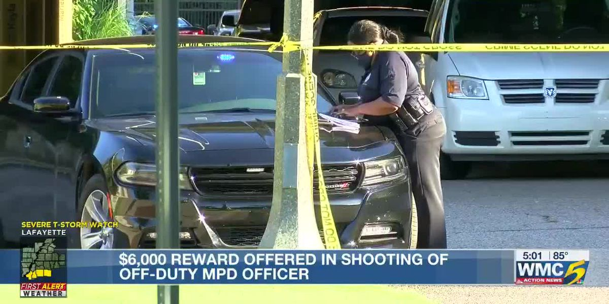 MPD seeking tips, offering reward in shooting of off-duty officer