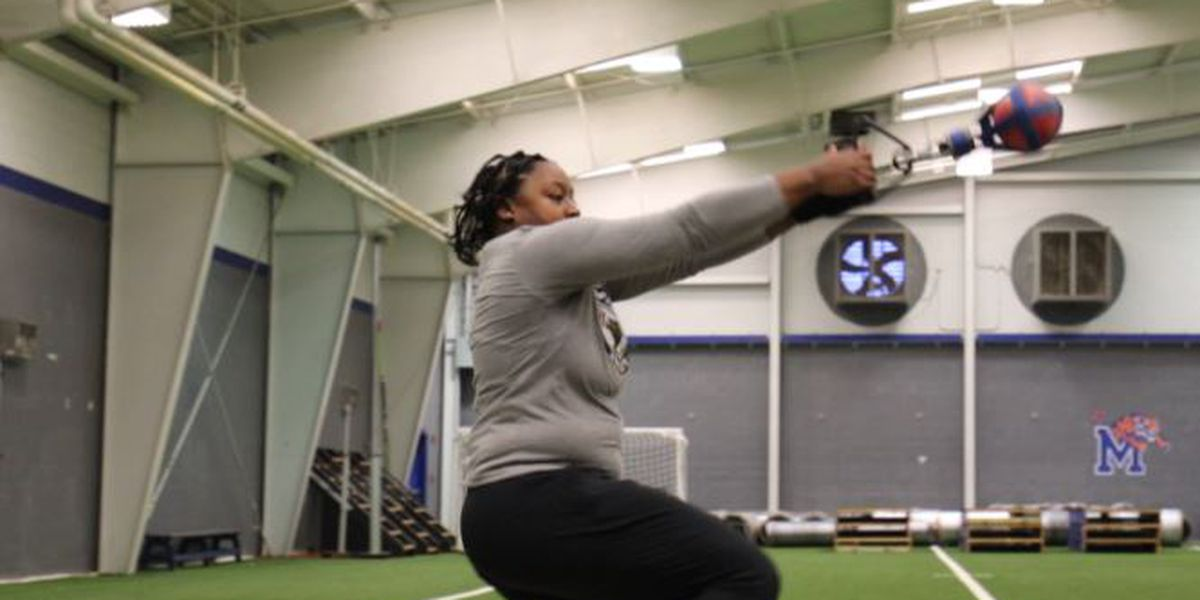 Tigers weight thrower, DeeNia McMiller, rewrites her story after coronavirus stole championship dreams in 2020