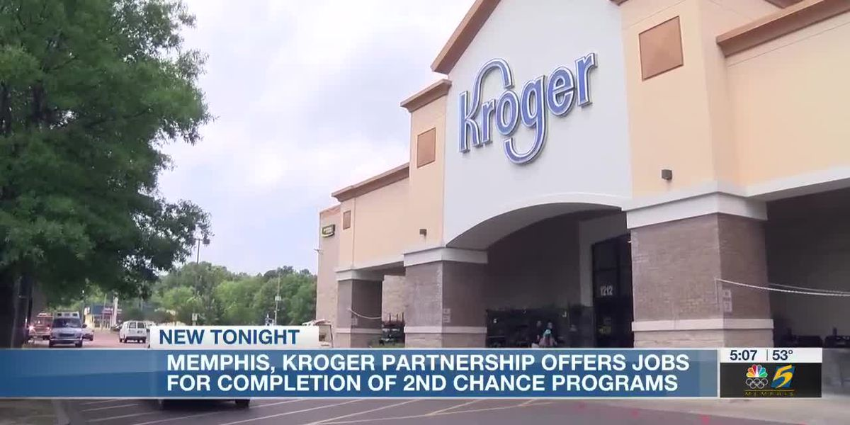 Memphis, Kroger partnership offers jobs for completion of 2nd chance programs