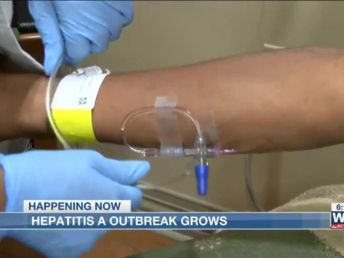Hepatitis A outbreak continues to grow in Shelby County