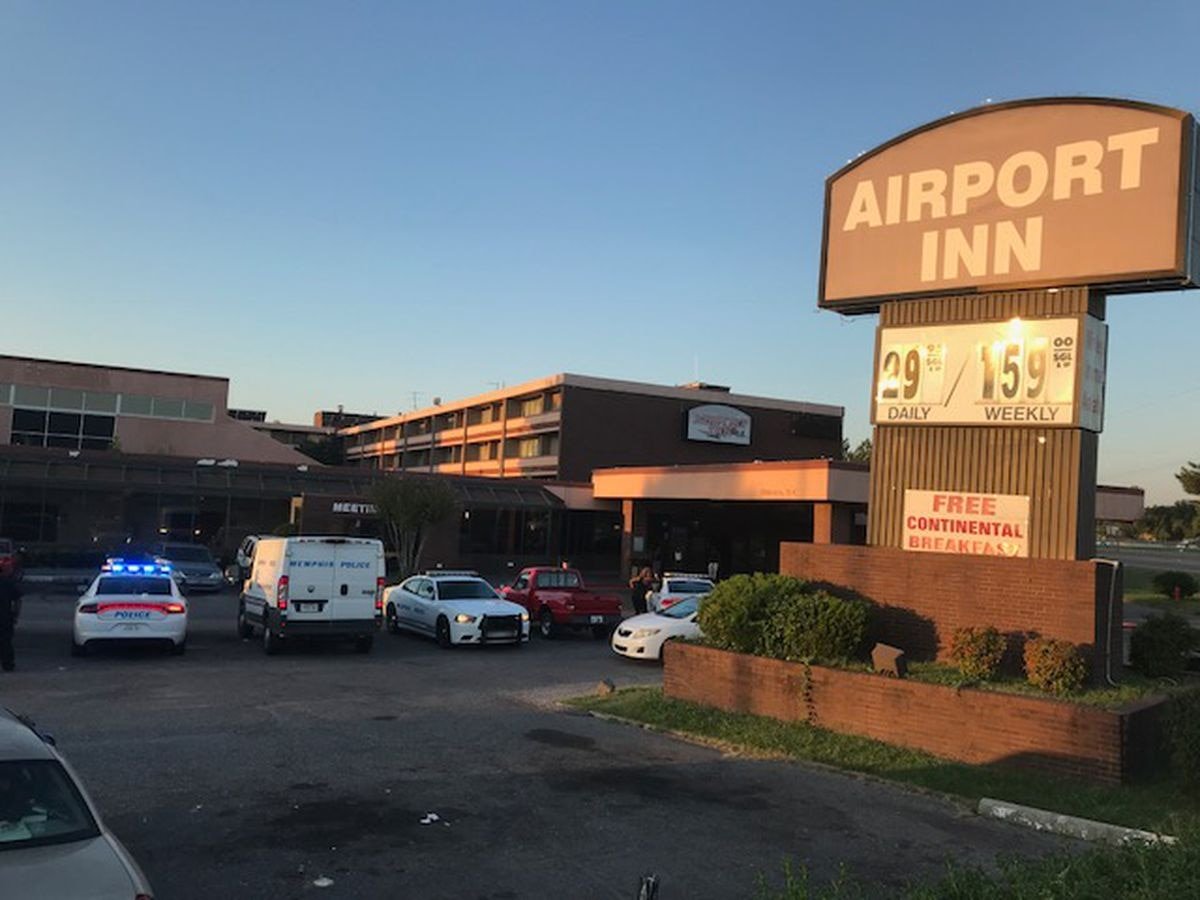 3 critical after hotel shooting near airport
