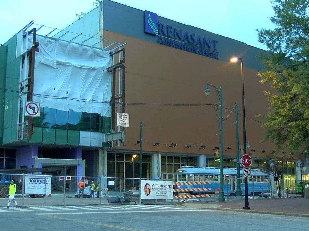 Multi-million-dollar renovations at Renasant Convention Center almost complete