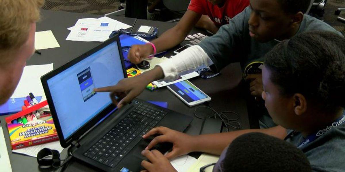 Hackathon uses kids' ingenuity to fight human trafficking