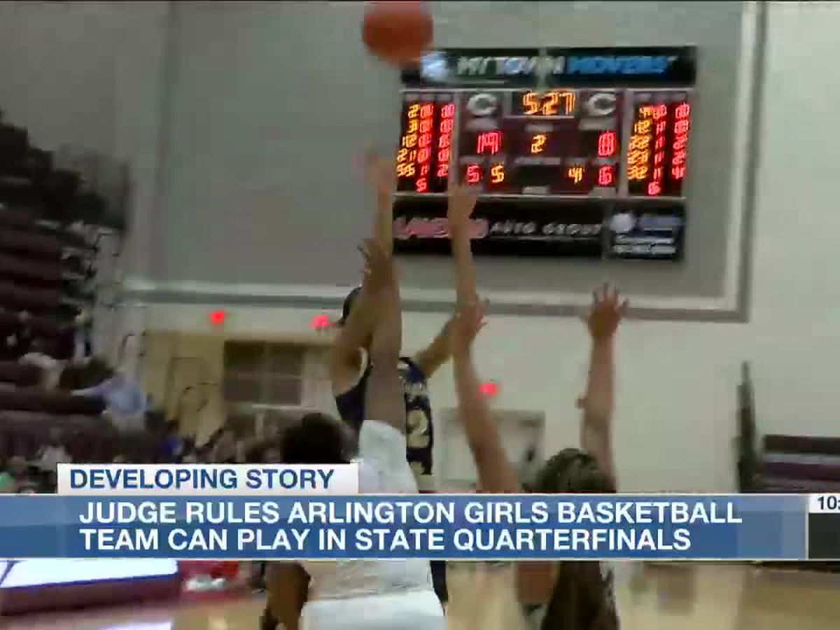 Judge rules Arlington girls basketball team can play in state quarterfinals
