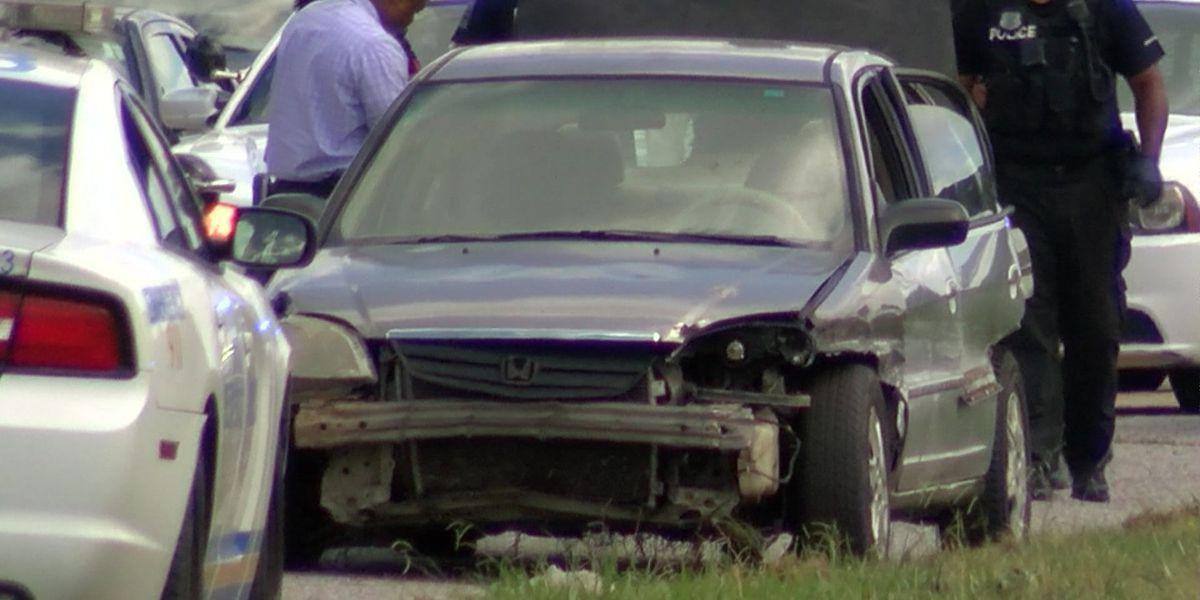 Shooting victims arrested after stolen car shot at on I-40