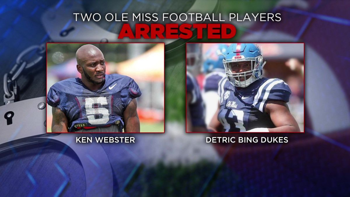promo code a5553 ee355 2 Ole Miss football players given 1-game suspension for ...