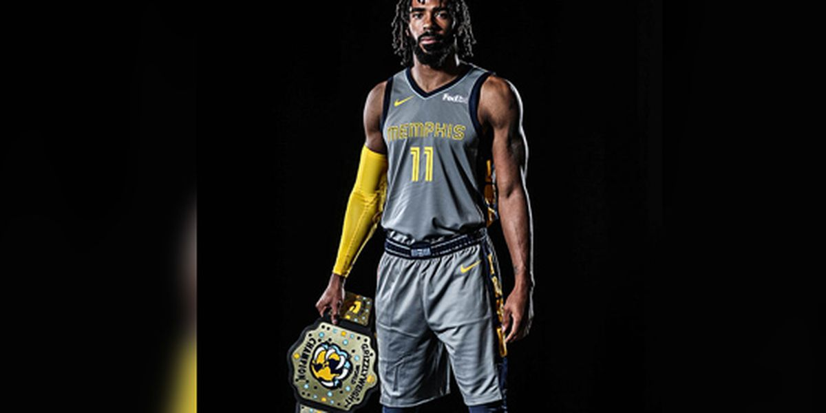 Grizzlies new uniform pays homage to Memphis Wrestling