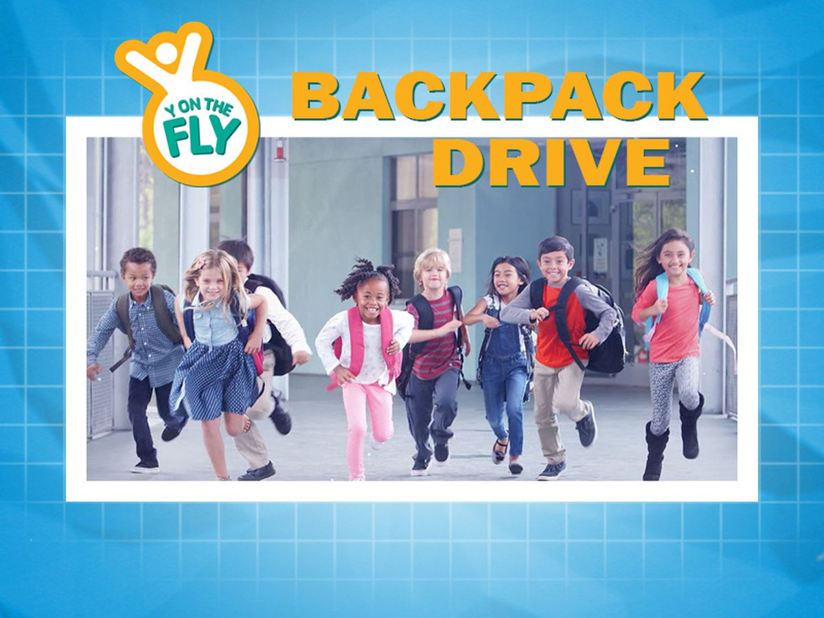 'Y on the Fly' collecting school supplies for backpack drive July 15 through 31
