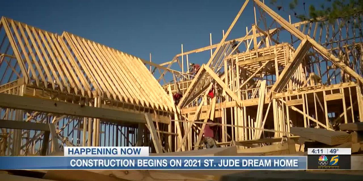 Here's what's inside the 2021 St. Jude Dream Home, now under construction
