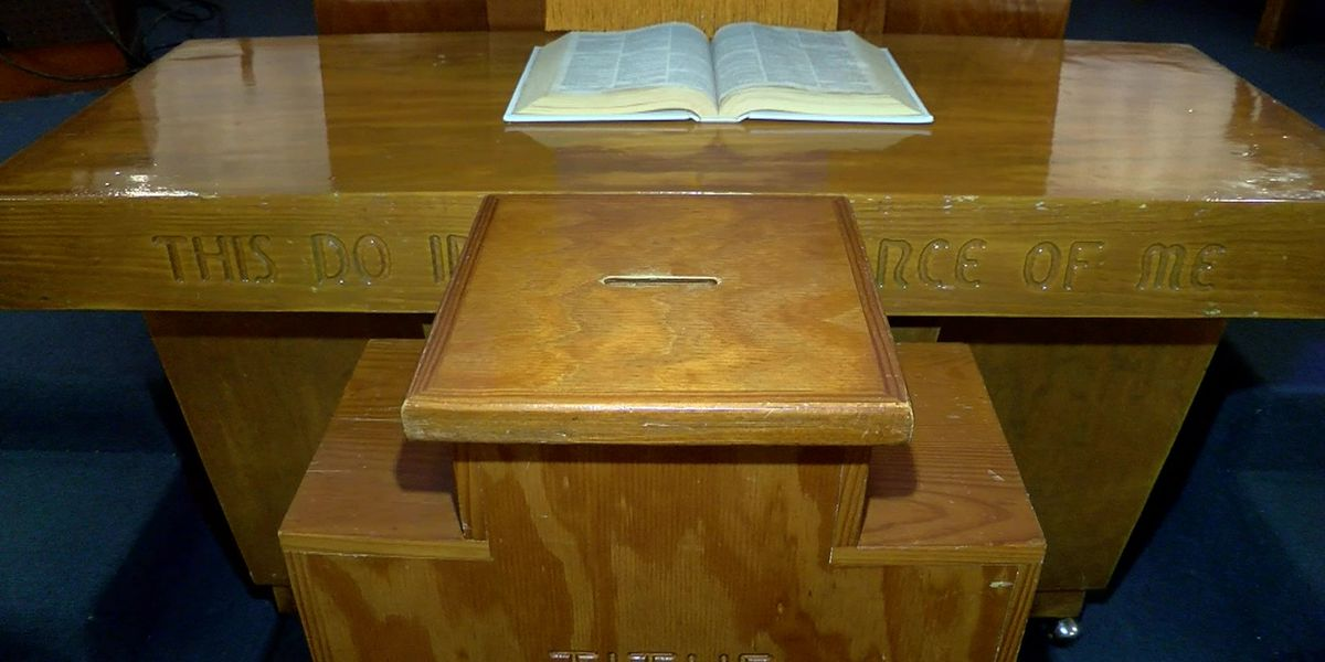Church out thousands of dollars on furniture order
