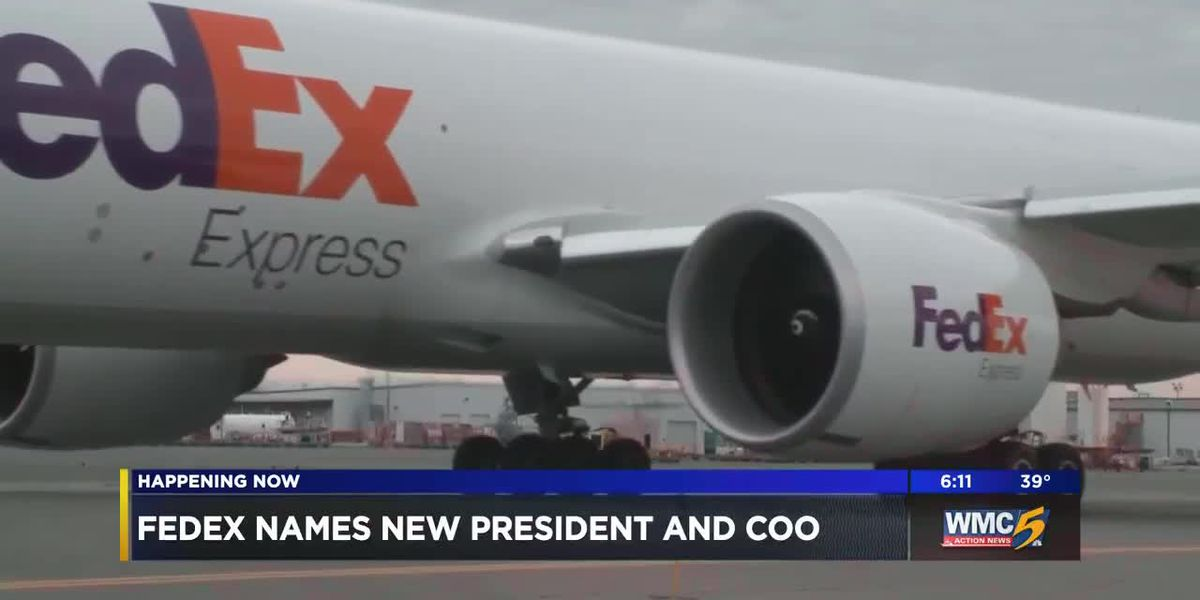 FedEx names new president and COO