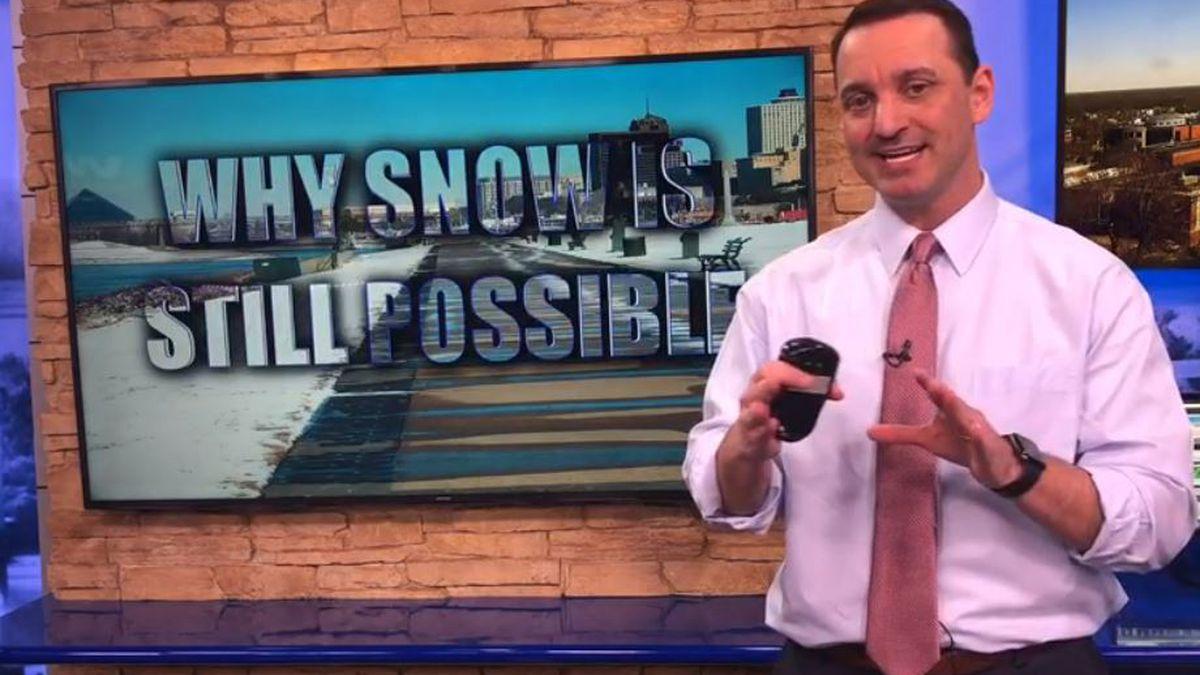 Breakdown: Why snow is still possible