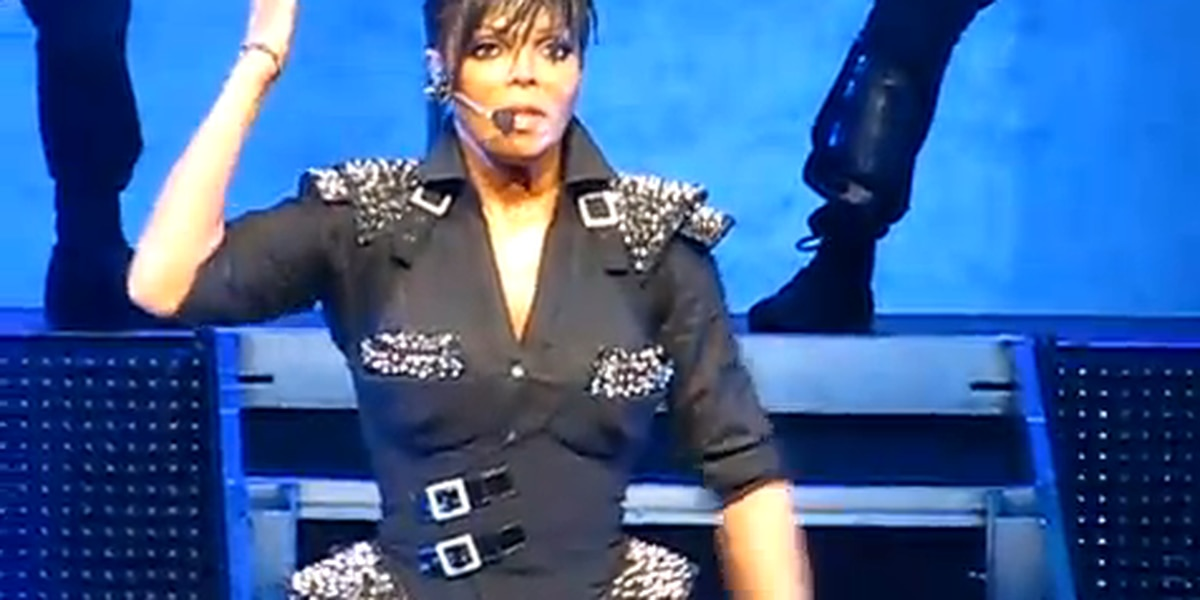 Pop star Janet Jackson holds open auditions for backup dancers