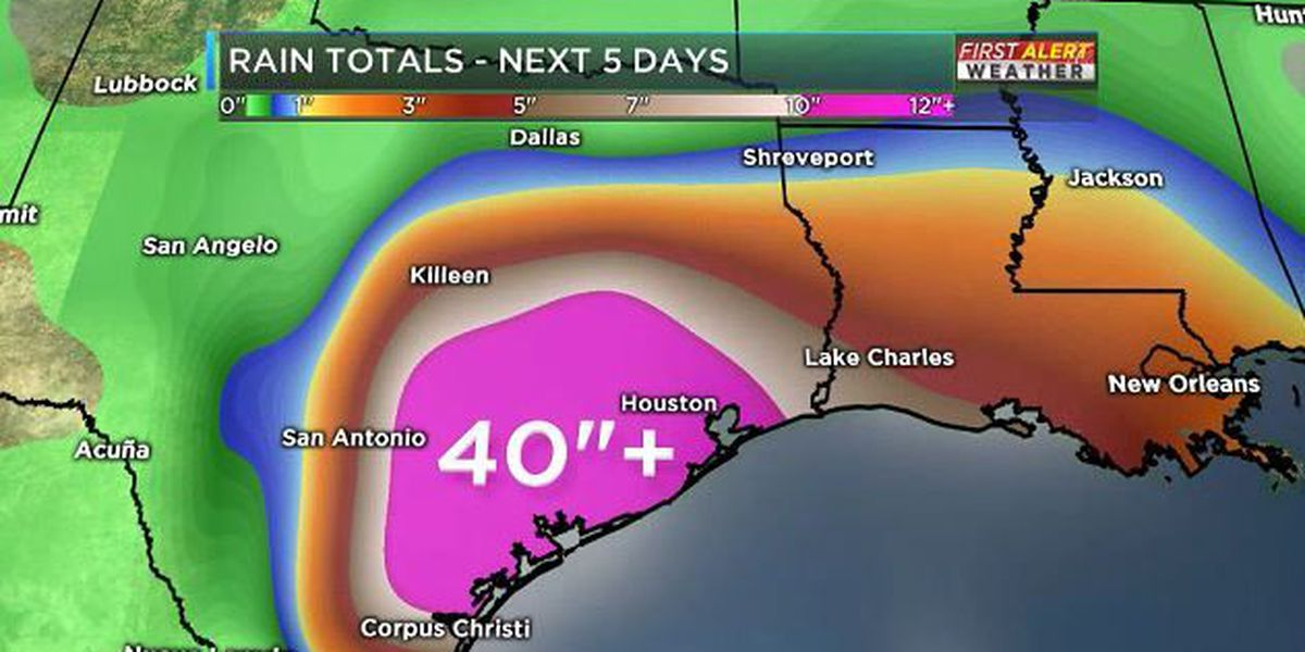 Harvey's winds subside but the flooding threat remains